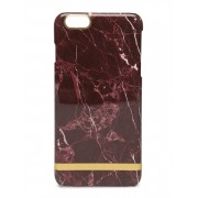 Richmond & Finch Red Marble Glossy Iph 6plus Mobilaccessoarer/covers Röd Richmond & Finch