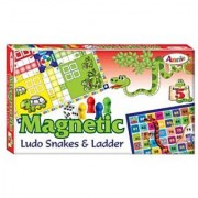 Sang-Annie Magnetic Ludo Snakes and Ladder Multi Color