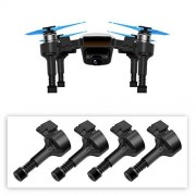 BTG Upgrade Extended Landing Gears Height Legs with Springs for DJI Spark Drone, Safe Landing Stabilizers Shockproof Gimbal Protector