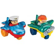 Fisher-Price Little People Wheelies Air Toy, 2-Pack