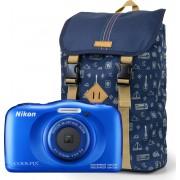 Nikon Coolpix W100 met rugtas - Blauw
