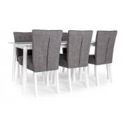 Mossbo matbord 180x90cm + Sandhamn stol