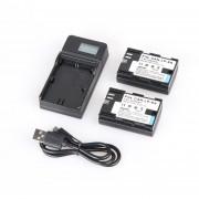 Batería Para Camara Canon LP-E6+ LCD Charger + USB Cable