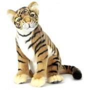 Hansa Tiger Cub Stuffed Plush Animal, S Itting