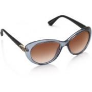Equal Cat-eye Sunglasses(Brown)