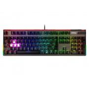KBD, MSI VIGOR GK80 RGB, GAMING, USB, Black