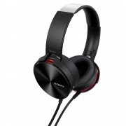 HEADPHONES, SONY MDR-XB950AP, Extra Bass, Smartphone-capable, Black (MDRXB950APB.CE7)