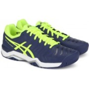 Asics GEL-CHALLENGER 11 TENNIS For Men(Green, Navy)