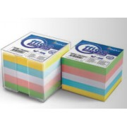 Rezerva cub din hartie color 8.5x8.5cm 70g/mp 800 file/set, FORPUS