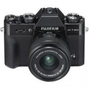 Fujifilm X-T20 + 15-45mm f/3.5-5.6 XC OIS PZ - Nera - MANUALE ITA - 2 Anni Di Garanzia in Italia