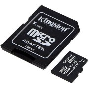 Kingston Micro SDHC 8GB Class 10 UHS-I Industrial Temp + SD adapter