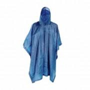 Geen Blauwe herbruikbare regenponcho voor volwassenen