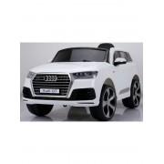 Automobil na baterije sa licencom Audi Q7,beli (del-q7w)