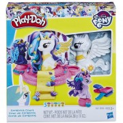 Set de Masas Moldeables My Little Pony Corte de Canterlot Play-Doh-Multicolor