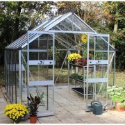 Eden Blockley 8 x 10 Greenhouse (Aluminium)