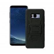 Funda Para Samsung G955 Galaxy S8 Plus Jyx Accesorios Robot Uso Rudo Con Clip - Negro