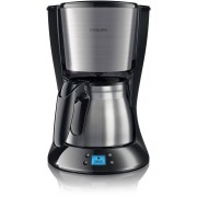 Cafetiera Philips HD7470/20 Daily Collection 1000W 1.2l negru / inox