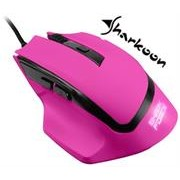 Sharkoon SHARK Force Gaming Optical Mouse: Pink ,