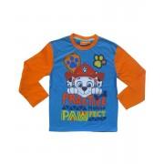 Bluza maneca lunga Paw Patrol, verde portocaliu, 3-6 ani