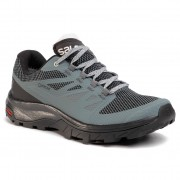Туристически SALOMON - Outline Gtx W GORE-TEX 409970 22 M0 Stormy Weather/Black/Lunar Rock