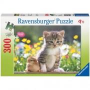 Ravensburger puzzle prieteni dragalasi, 300 piese
