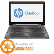 """HP EliteBook 8570w, 39,6 cm/15,6"""", Core i7, 256 GB SSD (generalüberholt)"""
