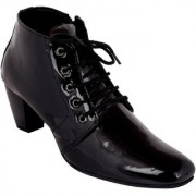 Exotique Women's Black Casual Boots (EL0060BK)