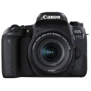 Canon EOS 77D hus + EF-S 18-55/4-5,6 IS STM
