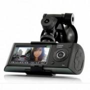 Camera Auto Dubla Cu GPS iUni Dash X3000 Plus HD display 2.7 inch