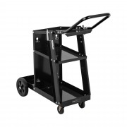 Welding Cart with Handle - 3 shelves - 80 kg