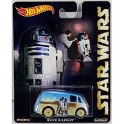Hot Wheels Star Wars Pop Culture Series R2 D2 Quick D Livery Die Cast