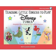 Teaching Little Fingers to Play Disney Tunes (Bk/Audio): Early to Mid-Elementary Level