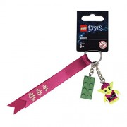 Lego Elves Roblin Keyring with a green brick - 853648