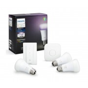 Philips KIT di base Philips HUE WHITE AND COLOR AMBIANCE 3xE27/10W/230V