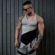 GymBeam Potkošulja Flexin Grey XL