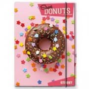 Папка с ластик Донът, Street, Donut, 225569