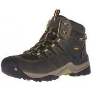 KEEN Men s Gypsum II Mid Waterproof Hiking Boot Forest Night/Warm Olive 11.5 D(M) US
