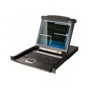 ATEN CL5708M CONSOLE KVM LCD 17' 8 PORTS + PORTS USB