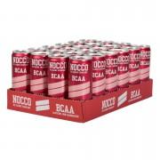 NOCCO BCAA Flak 24-pack 24st Hallon - med koffein, utan kolsyra