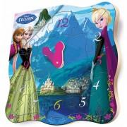 Puzzle ceas Disney Frozen BRIMAREX 12 piese
