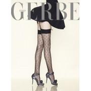 Gerbe - Exclusive subtle diamond pattern stockings Parisienne