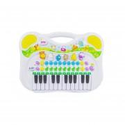 Organo, teclado para niños BESTOYS,blanco