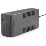 "Gembird 650 VA ""Basic 650"" UPS, Shuko output sockets, black, EG-UPS-B650"