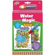 Water Magic: Carte de colorat Animalute, 6 imagini reutilizabile
