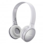 HEADPHONES, Panasonic RP-HF410BE-W, Bluetooth, Microphone, White