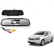 4.3 Inch Rear View TFT LCD Monitor Mirror Screen Display For Reverse Parking and Rear View For Tata Indigo eCS
