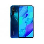 HUAWEI Nova 5T Smartphone 128 GB 6.26 inch (15.9 cm) Dual-SIM Android 9.1 48 Mpix, 16 Mpix, 2 Mpix, 2 Mpix Blauw