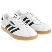 adidas Originals White Gazelle Super Sneakers White