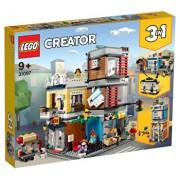 LEGO Creator 3 in 1, Magazin de animale si cafenea 31097