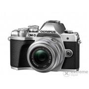 Aparat foto Olympus OM-D E-M10 Mark III kit (obiectiv 14-42 IIR), argintiu